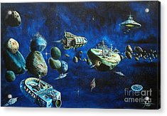 Asteroid City Acrylic Print