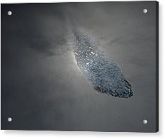 Asteroid Acrylic Print by Skip Willits