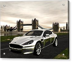 Aston Acrylic Print by John Pangia