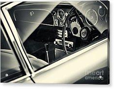 Aston Martin Db5  Acrylic Print by Tim Gainey