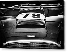 Aston Martin Superleggera Acrylic Print by Tim Gainey