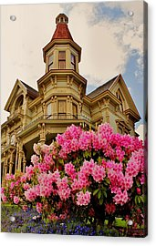 Astoria Acrylic Print by Benjamin Yeager