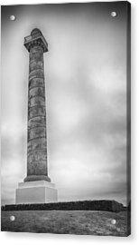 Astoria The Column Acrylic Print by David Millenheft