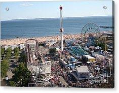 Astroland Coney Island Acrylic Print
