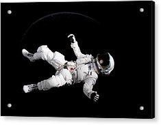 Astronaut Floating Acrylic Print by Rick Partington / EyeEm