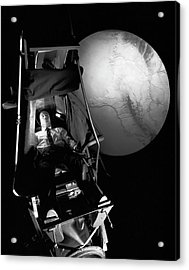 Astronaut Training Acrylic Print by Nasa