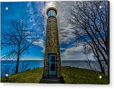 Asylum Point Lighthouse Acrylic Print