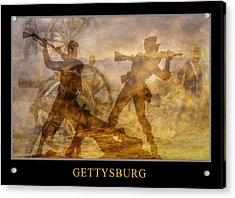 At A Place Called Gettysburg Poster Acrylic Print by Randy Steele