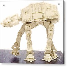 At-at All Terrain Armored Transport Acrylic Print