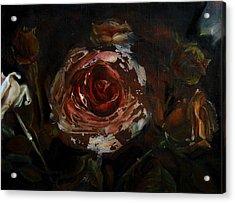 At Night Acrylic Print by Tanya Byrd