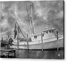 At Rest In The Harbor Acrylic Print