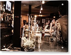 At The Bar Acrylic Print