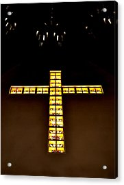 At The Cross Acrylic Print