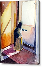 At The Door Acrylic Print