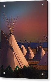 At The Encampment Acrylic Print