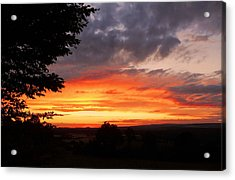 Acrylic Print featuring the photograph At The End Of The Day ... by Juergen Weiss