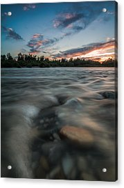 At The End Of The Day Acrylic Print by Davorin Mance