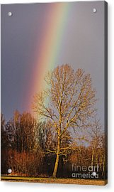 At The End Of The Rainbow Acrylic Print