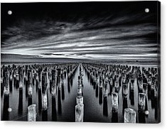 At The Front Acrylic Print