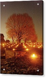 Acrylic Print featuring the photograph At The Miller Farm 12 by Judi Quelland