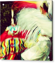 At The Pow Wow Acrylic Print