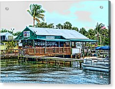 At The Riverside On Mothers Day 2112 Acrylic Print by Frank Feliciano