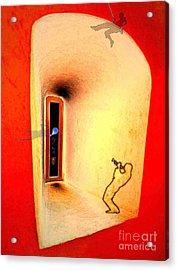 At The Window 01 Acrylic Print