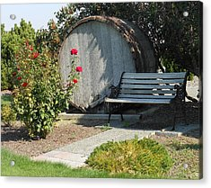At The Winery Acrylic Print by Kay Gilley