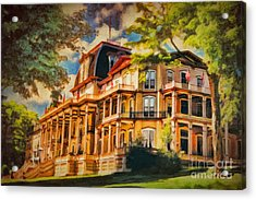 Athenaeum Hotel - Chautauqua Institute Acrylic Print by Lianne Schneider