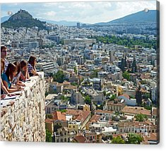 Athenian Scholars Acrylic Print