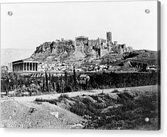 Athens Acropolis Acrylic Print by Granger