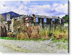 Athos Holly Place 2 Acrylic Print