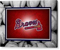 Atlanta Braves Acrylic Print