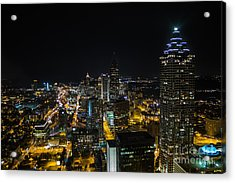 Atlanta City Lights Acrylic Print