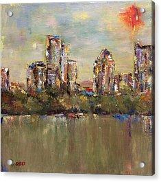 Atlanta Cityscape Acrylic Print