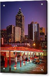 Atlanta Drive-in Acrylic Print by Inge Johnsson