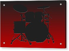 Atlanta Falcons Drum Set Acrylic Print