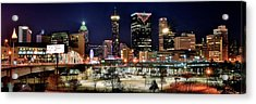 Atlanta Panoramic View Acrylic Print