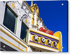 Atlanta Roxy Theatre Acrylic Print by Mark E Tisdale