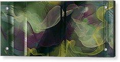 Atlantian Scarves Acrylic Print