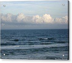 Atlantic At Daytona Beach Acrylic Print by Brian Johnson