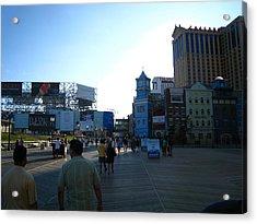 Atlantic City - Boardwalk - 01139 Acrylic Print