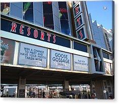 Atlantic City - Casino - 12129 Acrylic Print by DC Photographer