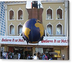 Atlantic City - Ripleys Believe It Or Not - 12129 Acrylic Print by DC Photographer