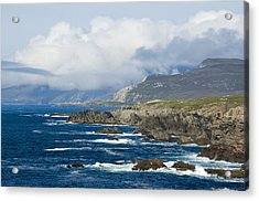 Atlantic Coast Achill Island Acrylic Print by Jane McIlroy