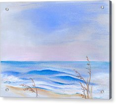 Acrylic Print featuring the pastel Atlantic Evening by MM Anderson