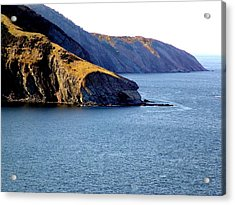 Atlantic Headlands Acrylic Print by George Cousins