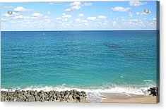 Atlantic Ocean In South Florida Acrylic Print