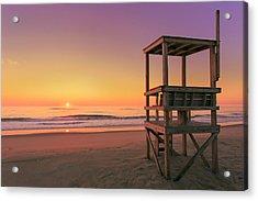 Atlantic Ocean In The Morning - Nauset Beach Acrylic Print by Dapixara