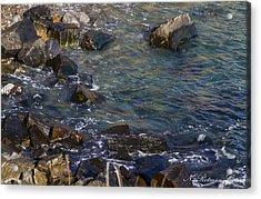 Atlantic Ocean Maine Acrylic Print